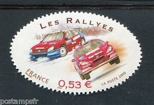 France 2005, Timbre 3798, Gordon Bennet, Sport Automobile, Les Rallyes, Neuf**