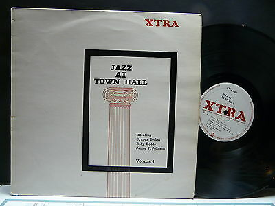 Jazz at town hall SYDNEY BECHET / BABY DODDS / JAMES P. JOHNSON XTRA 1003