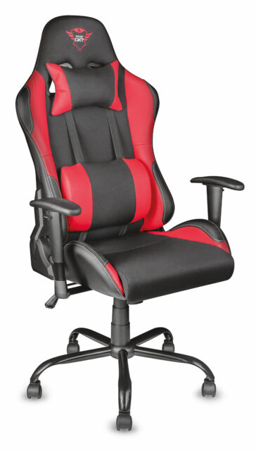 TRUST 21872 GXT 707 RESTO ERGONOMIC FULLY ADJUSTABLE GAMING CHAIR WITH GAS LIFT