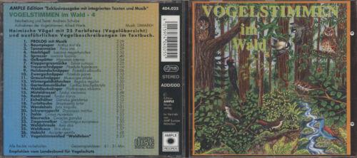 1 von 1 - CD Vogelstimmen im Wald
