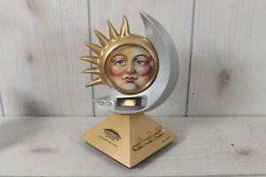 Vintage-Spartus-Talking-Horoscope-Clock-Tested-Works-Jennifer-Sands-Mystical