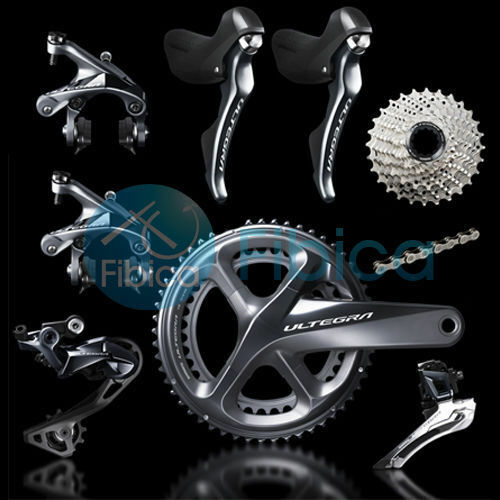 New 2018 Shimano Ultegra R8000 Full Road Groupset Group 50 34t 53 39T 172.5mm