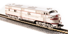 Broadway Limited 3630 N Scale EMD E8 A-unit Unpainted Dual Headlight DCC W//Sound