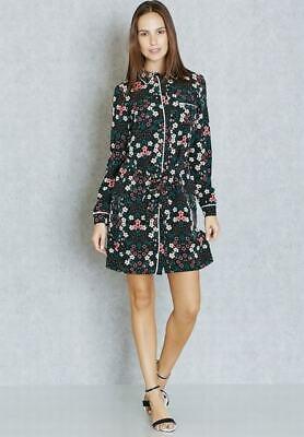 Dorothy Perkins Ladies Floral Print Belted Shirt Dress Sizes UK6 UK22 | eBay