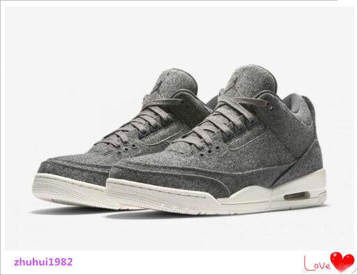 NIKE AIR JORDAN 3 RETRO III WOOL SHOES 854263004 BRAND NEW SIZE 8.5 Cheap women's shoes women's shoes