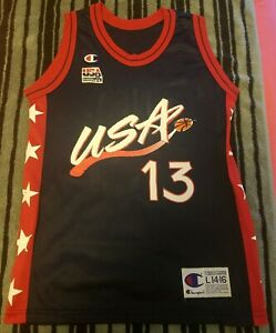 Dream Team Shaquille O Neal Youth Large L jersey Vintage Champion ... 7d241d059