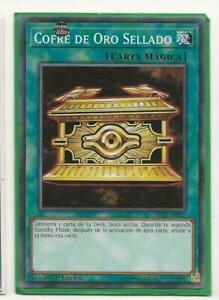 Cofre De Oro Sellado Sdcl En027 1st Edition Common Spanish Yugioh Sp027 Nm Ebay