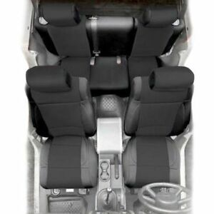 Remarkable Details About Front And Rear Neoprene Seat Covers Black For Jeep Wrangler Jk 13 17 2 Door Machost Co Dining Chair Design Ideas Machostcouk