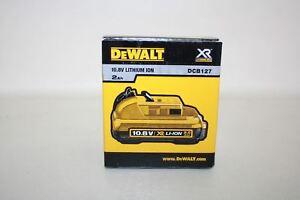 100% Vrai Nouveau Dewalt Dcb127-xj 10.8 V 2.0ah Lithium Ion Batterie De Remplacement Pack-afficher Le Titre D'origine
