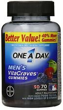 One-A-Day Mens VitaCraves Gummies, 70 Gummies