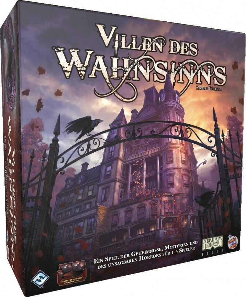 Villen des Wahnsinns - 2. Edition - Brettspiel   DEUTSCH   Cthulhu   NEU