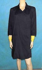 robe-portefeuille-LEVIS-en-coton-noir-taille-M-ou-38-fr-TRES-BON-ETAT