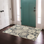 thumbnail 5 - Maidste Floral Hooked Gray/Ivory Rug