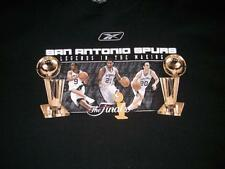 San Antonio SPURS Legends in Making 2003 The Finals Black T-shirt Mens 2XL used