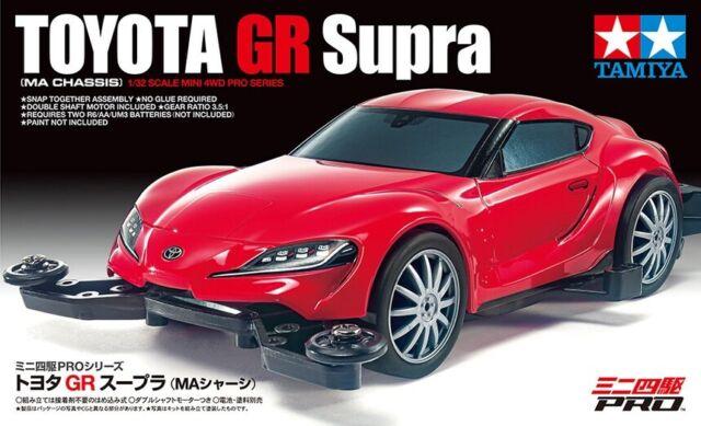 Tamiya 18655 1/32 Scale Mini 4WD Pro Car Kit MA Chassis Toyota GR Supra Jr