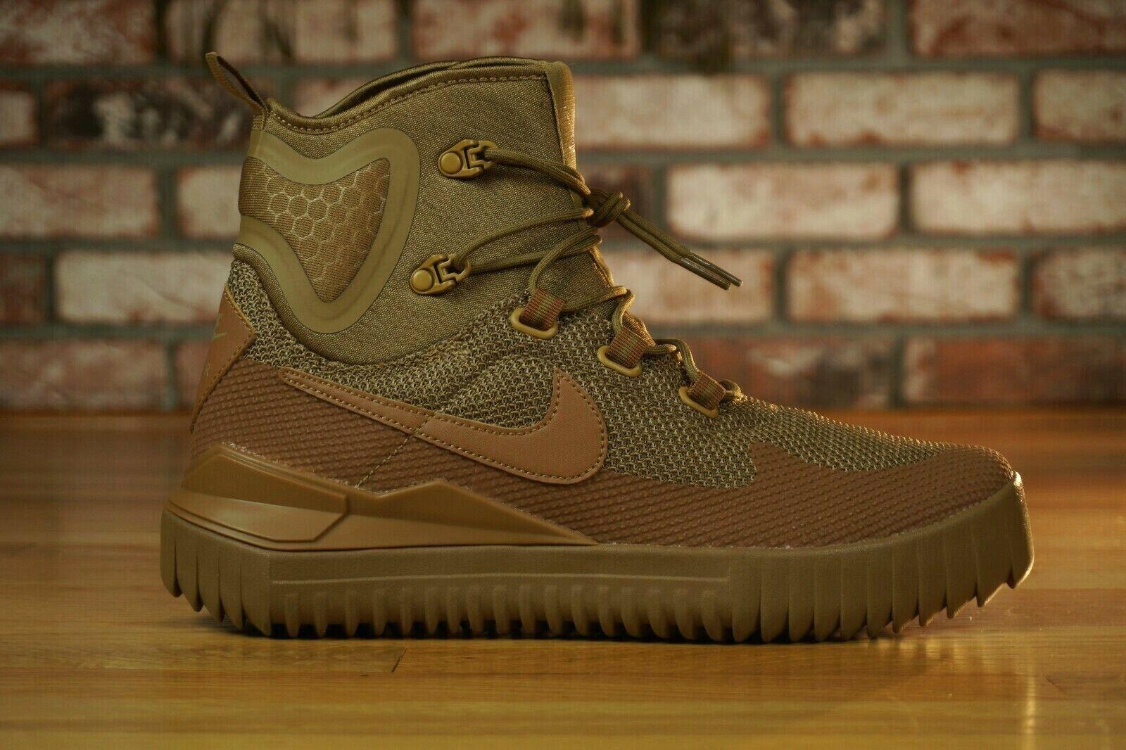 New Nike Air Wild Mid golden Beige Ale Brown 916819-200 Men's Size 8.5