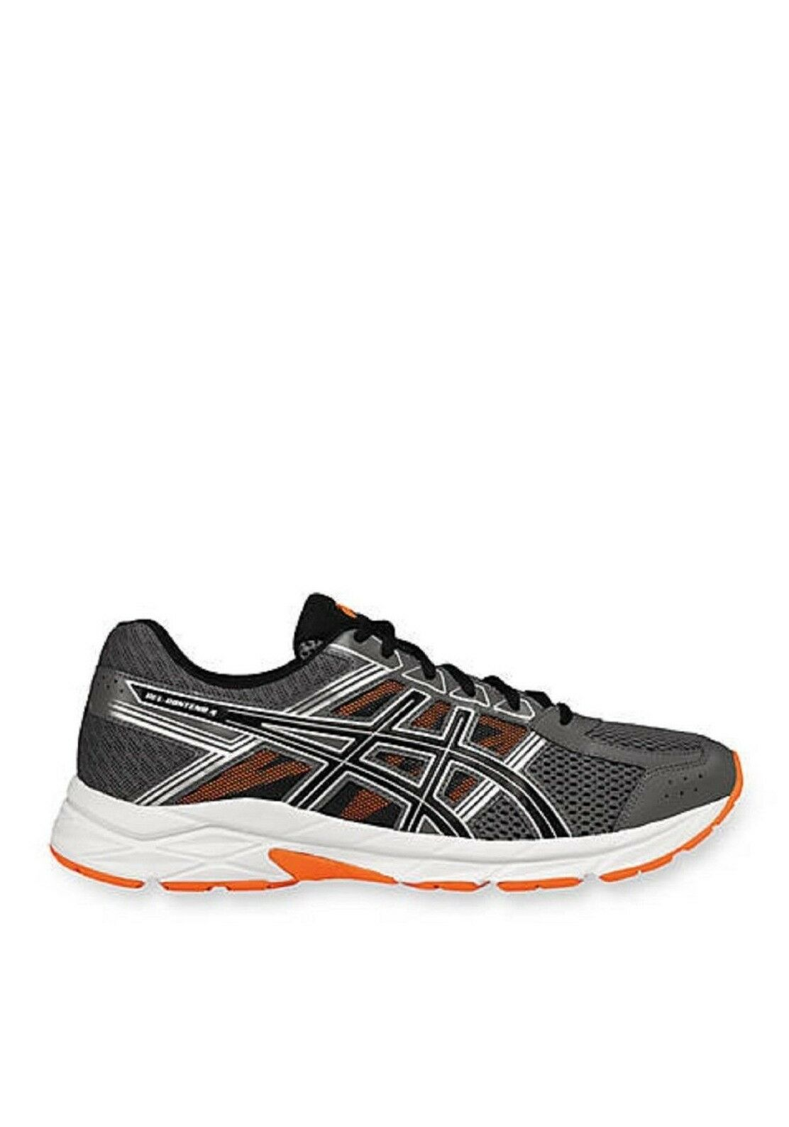 ils (t715n) font des chaussures pour hommes 4 gel (t715n) ils de carbone / aeb / ornge / whte sz.9m nib 785c75