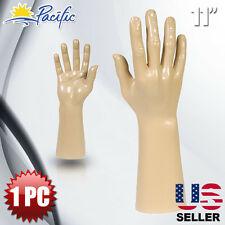 Male Mannequin Hand Display Jewelry Bracelet ring glove Stand holder naked