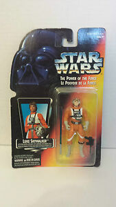 Luke-Skywalker-Power-of-the-Force-POTF-Orange-Card-MOSC-New