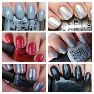 Opi Nail Varnish 50 Shades Of Grey Collection