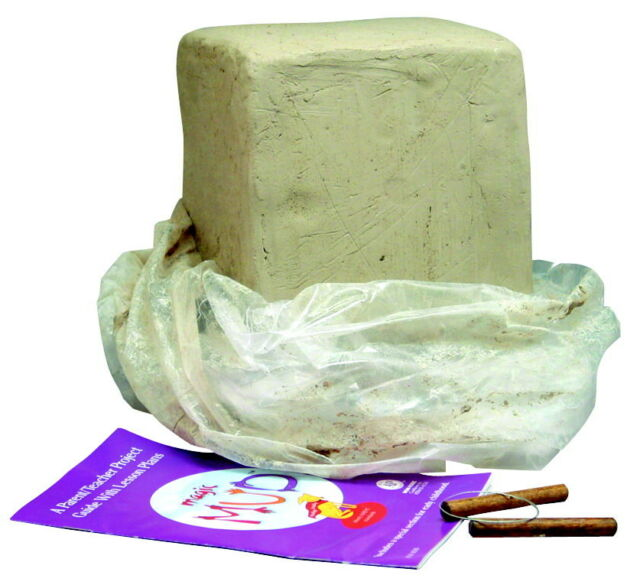 Magic Mud Modeling Clay Project Kit 48661M 25 Pounds