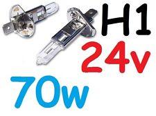1pr H1 Globes Bulbs 70W 24V Hella Rallye 2000 4000 Cibie Oscar Narva