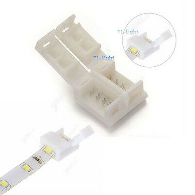 10pcs Mini 4-PIN RGB Connector Adapter 10mm Waterproof For 5050 RGB LED Strip
