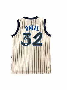 buy popular ee39d 4fdc6 Details about Shaquille O'Neal Shaq Orlando Magic Home Signed Jersey Jsa
