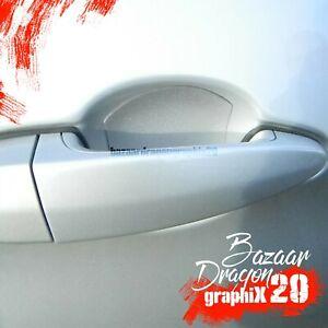3M Clear Paint Protection Film - Clear Door Cup Film - 4 of door cups per Order