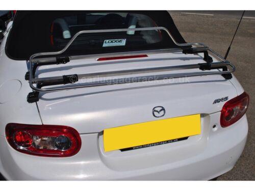 Mazda MX5 MK3//Miata NC Equipaje Arranque Rack-Rack de acero inoxidable impresionante