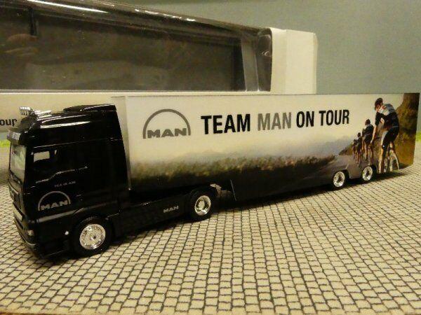 1 87 Herpa MAN TGA TEAM MAN ON TOUR