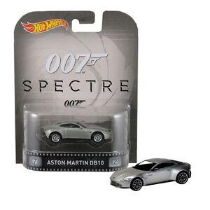 James Bond Spectre 1 64 Aston Martin Db10 Hot Wheels Official 887961274660 Ebay