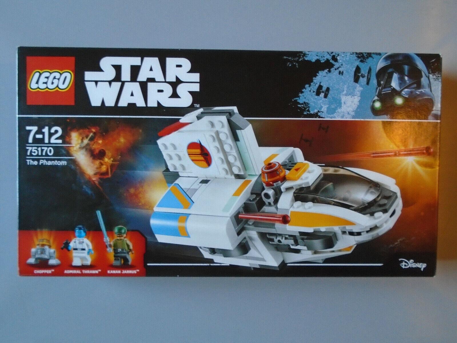LEGO 75170 StarWars The Phantom Komplett OVP BA Figuren.