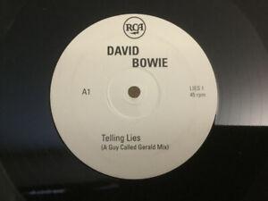David-Bowie-Telling-Lies-NEW-RARE-Original-UK-PROMO-DOUBLE-12-034-vinyl-single