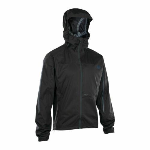 Ion 3 Layer Scrub Amp Bike Wind//Rain Jacket Black 2020