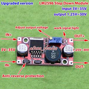 DC-DC Buck Step Down Converter 3.3V 4.2V 5V 6V 9V 2.5A Car Power Supply Module