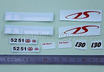 DG Véhicule miniature 1//43 decalcomanie CAPELLI malboro DASSAULT HECO voiture