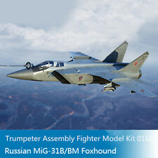 Trumpeter 01680 1/72 Scale Russian MiG-31B/BM Foxhound Fighter Plastic Model Kit