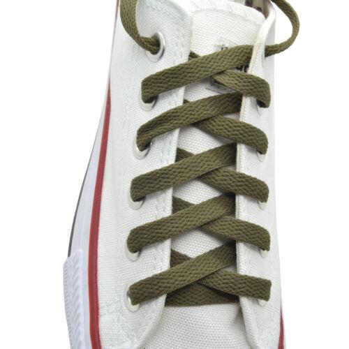 """2 Pairs Flat 27/"""",36/"""",45/"""",54/"""",63/"""" Athletic Sneaker Strings Shoelace"""