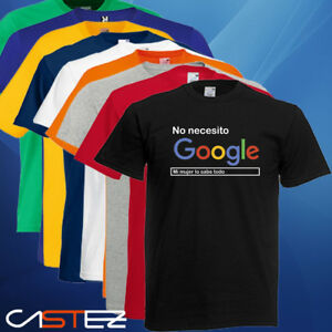 Camiseta-no-necesito-google-mi-mujer-lo-sabe-todo-divertida-regalo-ENVIO-24-48h