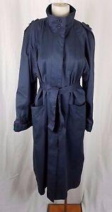 Avec Haut Cape Trench Ceinture Temps Cravate Tous coat Large Col Vintage 597ms txqFnB6