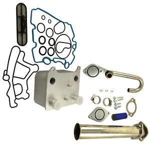 EGR Delete kit /& Oil Cooler Fit For Ford Powerstroke Diesel F250 2003-2007 6.0L