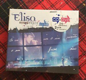 Elisa-Soundtrack-Live-96-06-CD-e-DVD-Cofanetto-Raro-Sigillato-Sound-Track