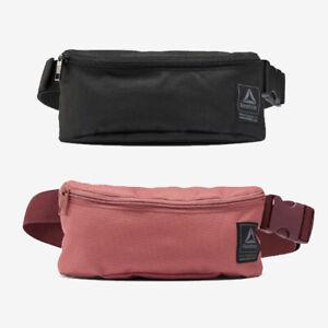 Details about Reebok Waist Bag Workout Ready Fanny Bum Hip Pack EC5442 Black EC5443 Pale Rose