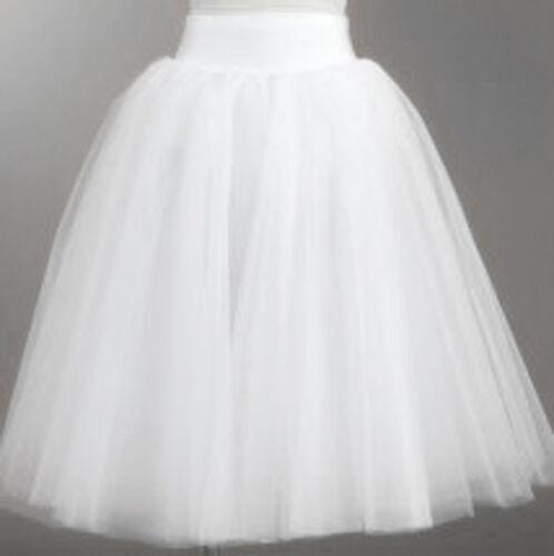 Brand New Elegant 5 Layers White /& Black Romantic Tutu Skirts Quality Assured
