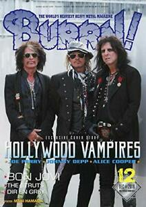 USED-BURRN-Dec-2018-Heavy-Metal-Magazine-Japan-HOLLYWOOD-VAMPIRES-Johnny-Depp
