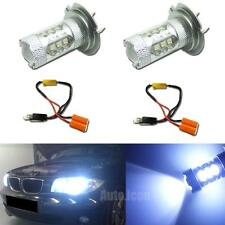 Canbus 8K Blue High Power H7 LED Bulbs For BMW 3 5 Series Hi-Beam Daytime Light
