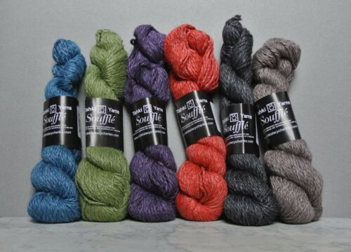 Angora Viscose /& Wool Tahki Souffle Yarn aran weight