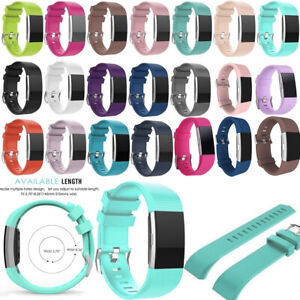 FOR-Fitbit-CHARGE-2-Replacement-Silicone-Rubber-Band-Strap-Wristband-Bracelet