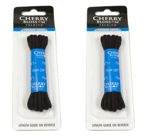 Black Round Shoe Laces 70cm 4 to 5 Eyelet Shoes Buy 1 Get 1 Free